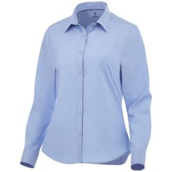 Hamell long sleeve ladies shirt, Female, Poplin of 96% Cotton, 4% Elastane 50x50+40D, 170x72, Light blue, L