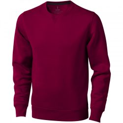 Surrey crew Sweater, Unisex, Knit of 80% Cotton and 20% Polyester, brushed on the inside, Burgundy, XXS