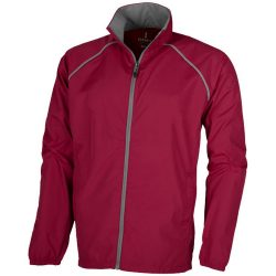 Egmont packable jacket, Male, 240T of 100% Polyester with water resistant coating and water repellent finish, Red, L