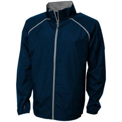 Egmont packable jacket, Male, 240T of 100% Polyester with water resistant coating and water repellent finish, Navy, XXL
