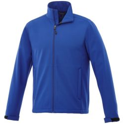 Maxson softshell jacket, Male, Mechanical stretch woven of 100% Polyester bonded to micro fleece of 100% Polyester with waterproof, breathable membrane and water repellent finish, Classic Royal blue, XXL