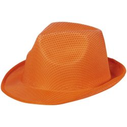 Trilby Hat, Unisex, 100% Polyester, Orange