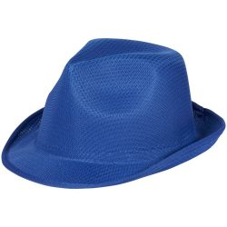 Trilby Hat, Unisex, 100% Polyester, Blue