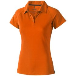 Ottawa short sleeve women's cool fit polo, Female, Piqué of 100% Polyester with Cool Fit finish, Orange, L