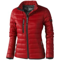Scotia light down ladies jacket, Female, Woven of 100% Nylon with dull cire water repellent coating, 20D 90% Down and 10% Feathers 115 g/m², Red, XL