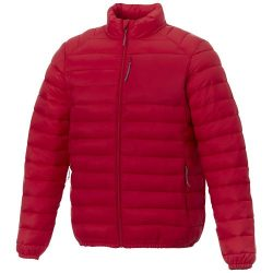 Atlas men's insulated jacket, Woven of 100% Nylon, 380T with cire finish, Red, XXXL