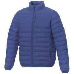 Atlas men's insulated jacket, Woven of 100% Nylon, 380T with cire finish, Blue, XS