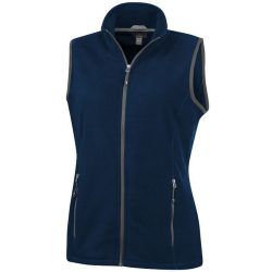 Tyndall micro fleece ladies Bodywarmer, Female, Micro fleece of 100% Polyester, 2 sides brushed, 1 side anti-pilling, Navy, XS