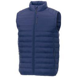 Pallas men's insulated bodywarmer, Woven of 100% Nylon, 380T with cire finish, Blue, XS