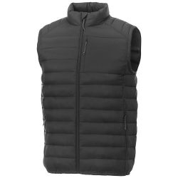 Pallas men's insulated bodywarmer, Woven of 100% Nylon, 380T with cire finish, Storm Grey, XL