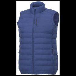 Pallas women's insulated bodywarmer, Woven of 100% Nylon, 380T with cire finish, Blue, M