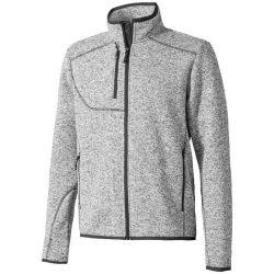 Tremblant knit jacket, Male, 100% Polyester brushed back sweater knit, HEATHER GREY, XXL