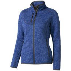 Tremblant ladies knit jacket, Female, 100% Polyester brushed back sweater knit, HEATHER BLUE, XS