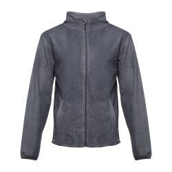 HELSINKI. Men's polar fleece jacket, Male, 100% polyester: 280 g/m², Grey, S