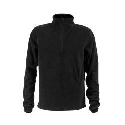 VIENNA. Unisex polar fleece, Unisex, 100% polyester: 280 g/m², Black, S