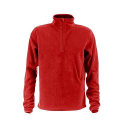 VIENNA. Unisex polar fleece, Unisex, 100% polyester: 280 g/m², Red, L