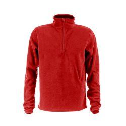 VIENNA. Unisex polar fleece, Unisex, 100% polyester: 280 g/m², Red, S