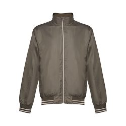 OPORTO. Men's sports jacket, Male, 100% polyester: 160 g/m², Army green, XL