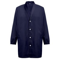 MINSK. Unisex workwear smock, Unisex, 20% cotton and 80% polyester: 190 g/m², Navy blue, L