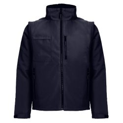 ASTANA. Unisex padded workwear jacket, Unisex, 100% polyester, Navy blue, M
