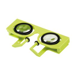 OCULARS. Virtual reality glasses, Light green