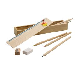Drawing set, Wood, no colour