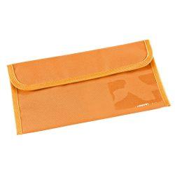 Travel document bag, 600D, Orange