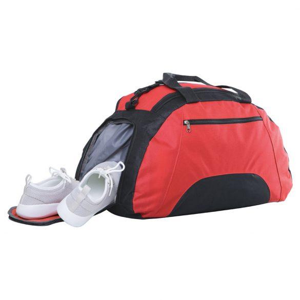 Geanta gimnastica, curele ajustabile, buzunar frontal, Everestus, FT, 600D, rosu
