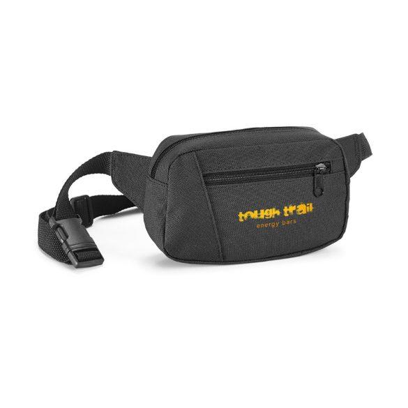 Waist pouch, 600D, Black