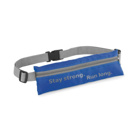 Waist pouch, 210D ripstop, Royal blue