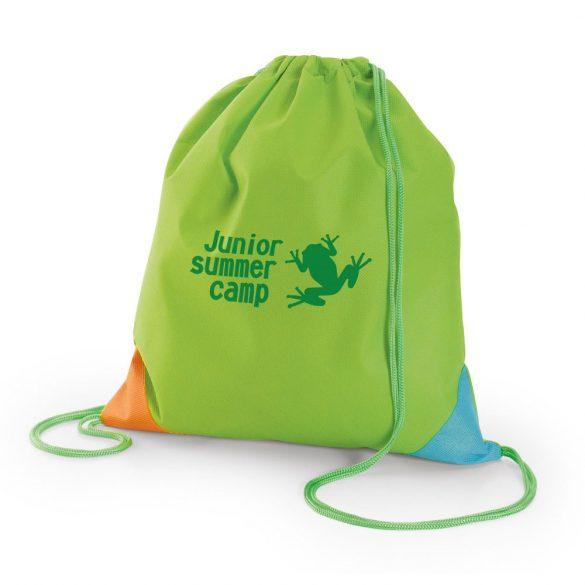 Drawstring bag, Non-woven: 80 g/m², Light green