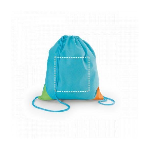 Drawstring bag, Non-woven: 80 g/m², Light blue