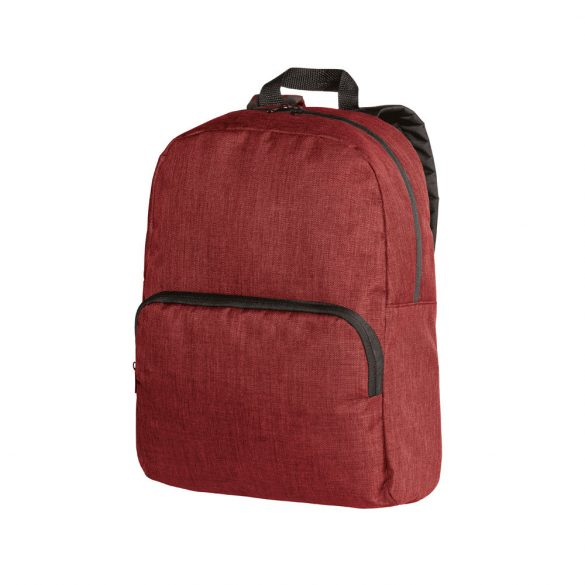Rucsac laptop 14 inch cu buzunar frontal, Everestus, 20FEB0944, Poliester 600D, Rosu