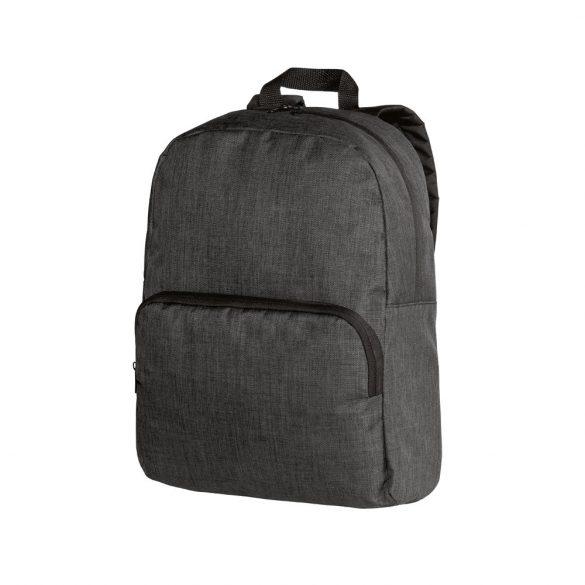 Rucsac laptop 14 inch cu buzunar frontal, Everestus, 20FEB0943, Poliester 600D, Gri