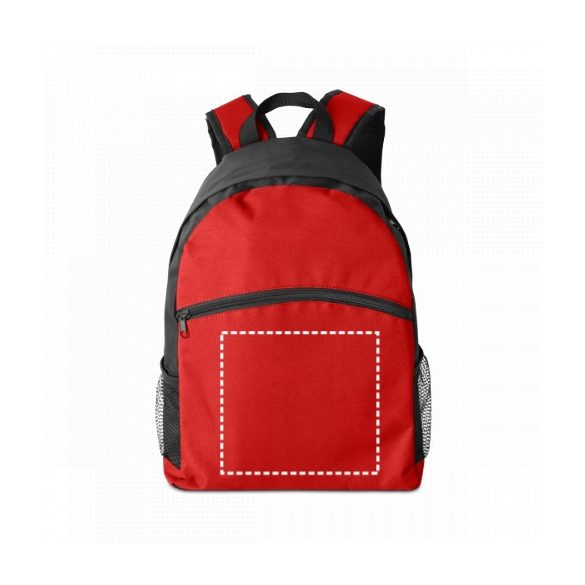 KIMI. Backpack, 600D, Red