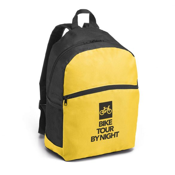 KIMI. Backpack, 600D, Yellow