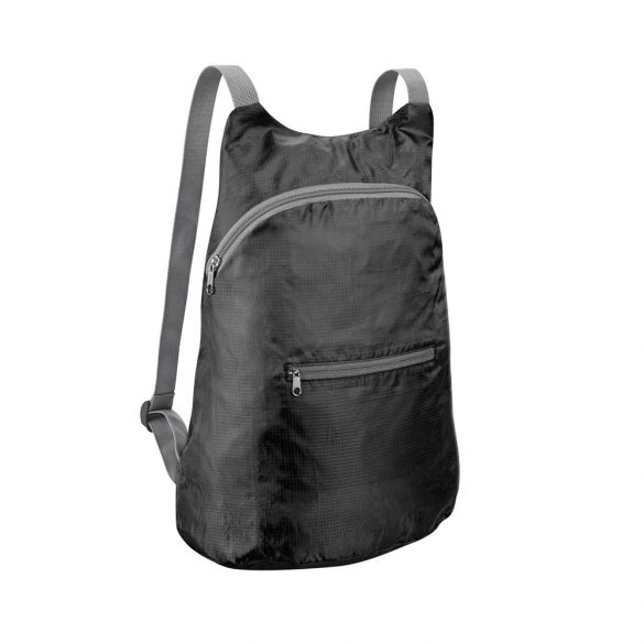 Foldable backpack, 210D ripstop, Black