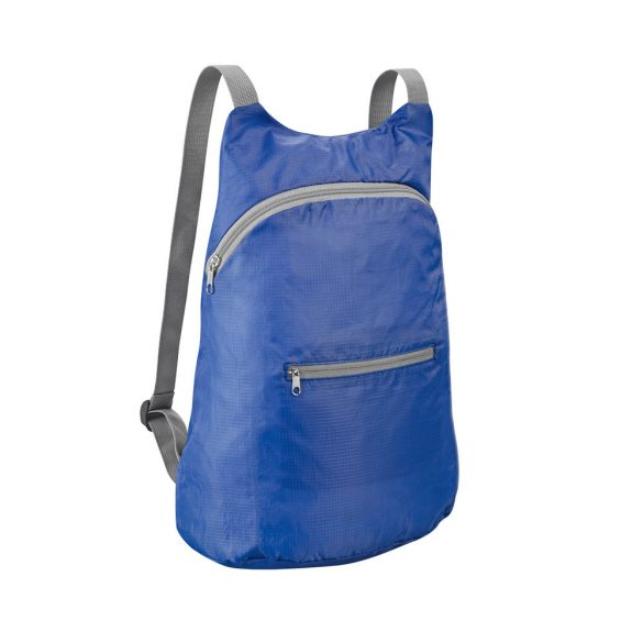Foldable backpack, 210D ripstop, Royal blue