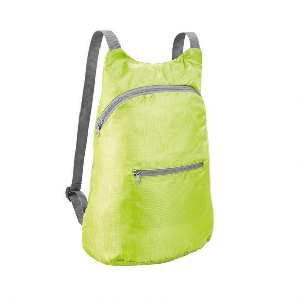 Foldable backpack, 210D ripstop, Light green