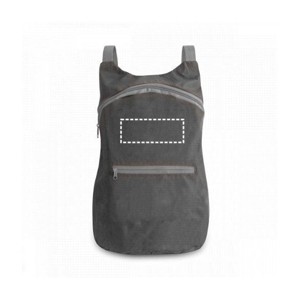 Foldable backpack, 210D ripstop, Orange