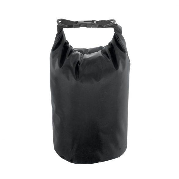 Sacosa rezistenta la apa, cu bretea de umar ajustabila, Everestus, 20IAN1962, Negru, Tarpaulin