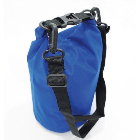 Sacosa rezistenta la apa, cu bretea de umar ajustabila, Everestus, 20IAN1964, Albastru, Tarpaulin