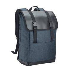 Rucsac Laptop 17 inch, Everestus, TR, 600D densitate mare si tarpaulin, albastru inchis
