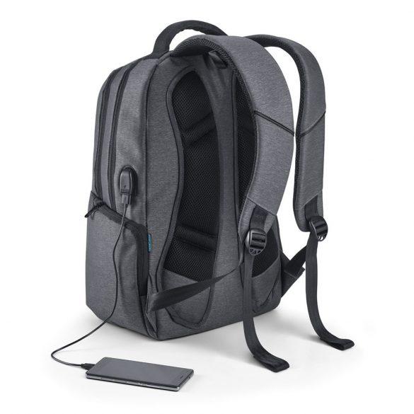 Rucsac Laptop 17 inch, Everestus, NB, Nylon 2Tone rezistent la apa, antracit