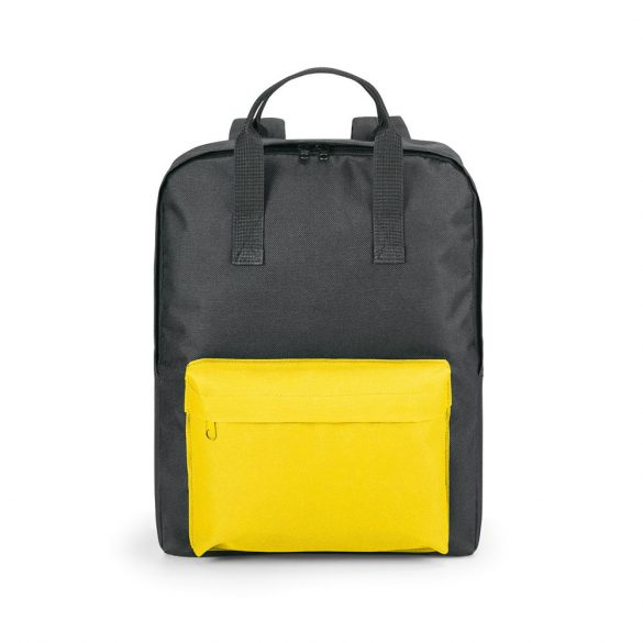 Backpack, 600D, Yellow