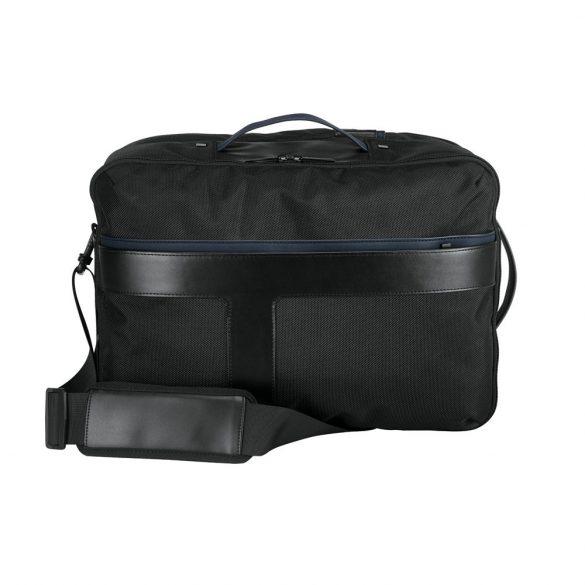Rucsac laptop 15.6 inch, Branve by AleXer, 20FEB0939, Piele ecologica 1680D, Poliuretan, Albastru