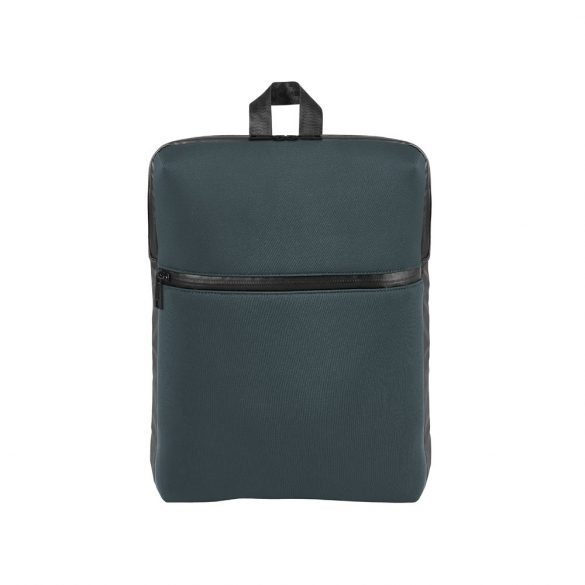 Rucsac laptop 14 inch, Branve by AleXer, 20FEB0949, Poliester, Gri