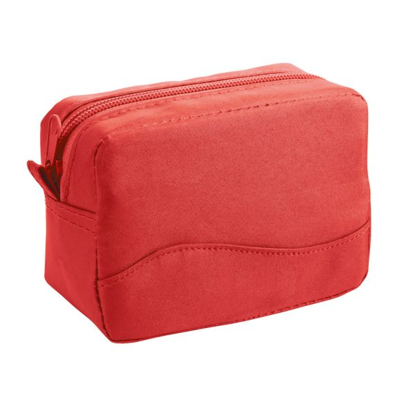 Multiuse pouch, Microfiber, Red