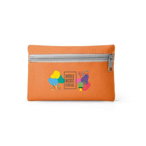 Husa pentru chei, Everestus, KR0618, poliester 600D, portocaliu