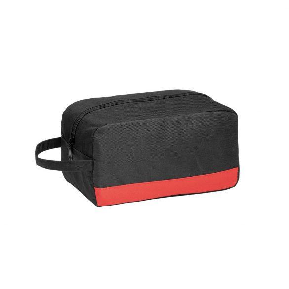 Cosmetic bag, 600D, Red